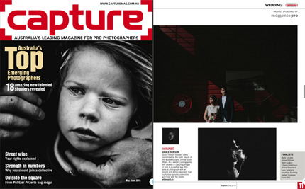 Capture Magazine Emerging Photographer of the Year Wedding