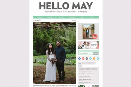 Hello May Blue Mountains Wedding
