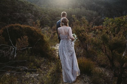 australian blue mountains wedding