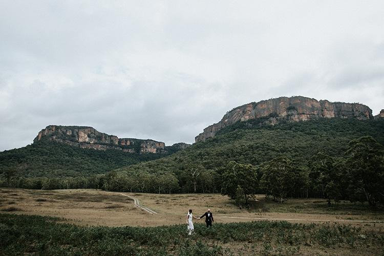 wolgan valley wedding