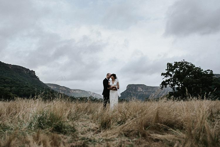 emirates wolgan valley wedding