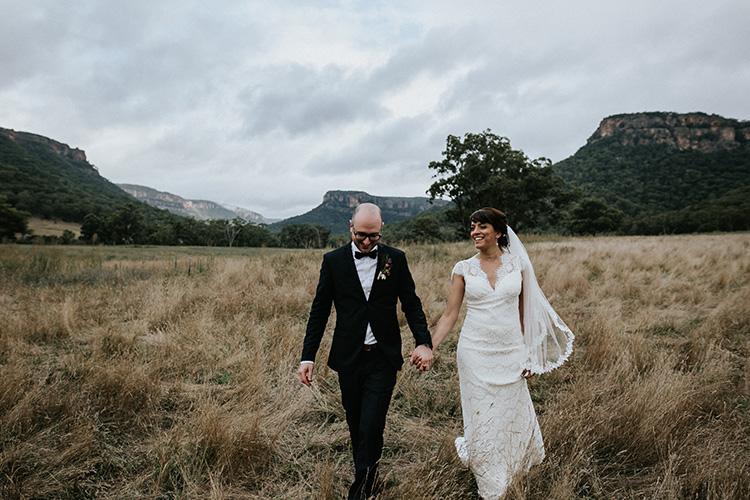 wolgan valley wedding photographer