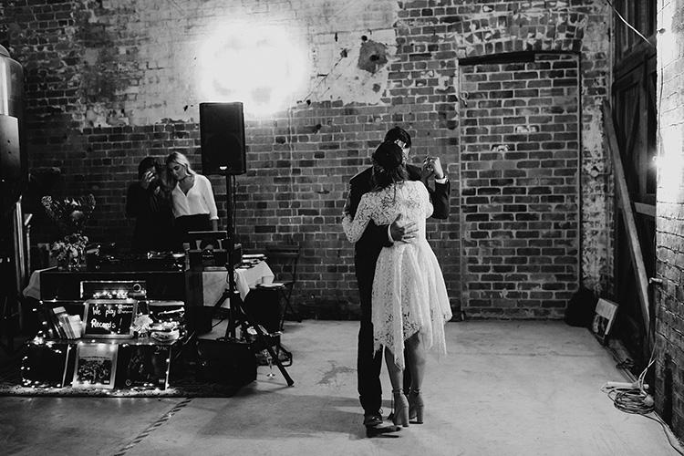 wedding at katoomba brewery