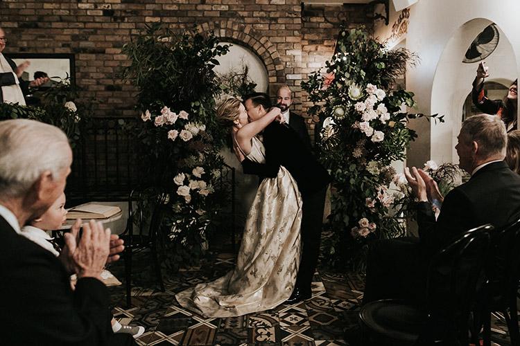 porteno events wedding ceremony