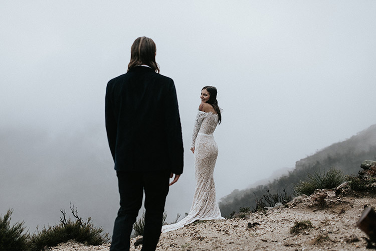blue mountains elopement photographer