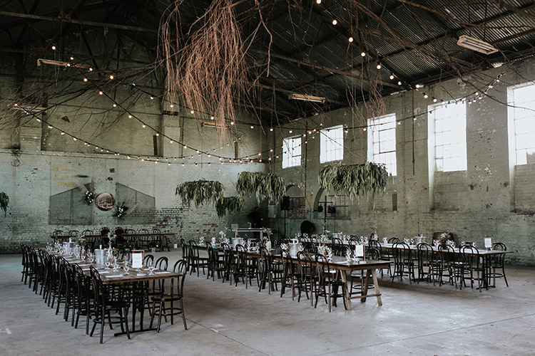 the silos foundations portland blue mountains industrial wedding venue