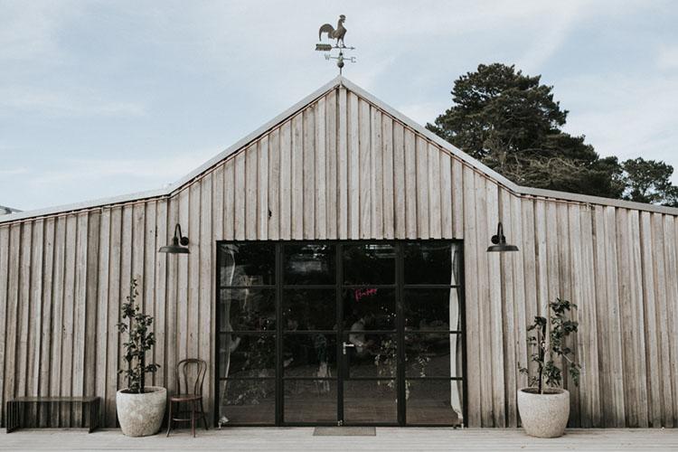 logan brae machinery shed blue mountains wedding venue