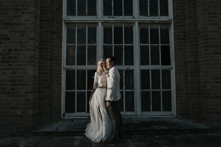 wedding photo at the foundations portland